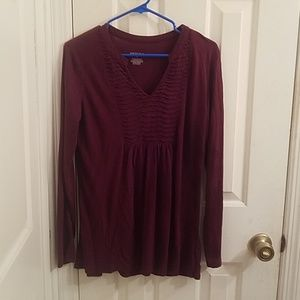 Merona long sleeved shirt
